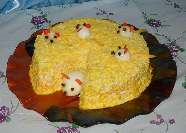 Салат мышки в сыре рецепт 122