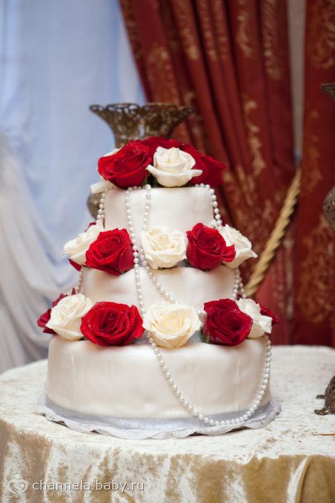 Наш тортик)))
