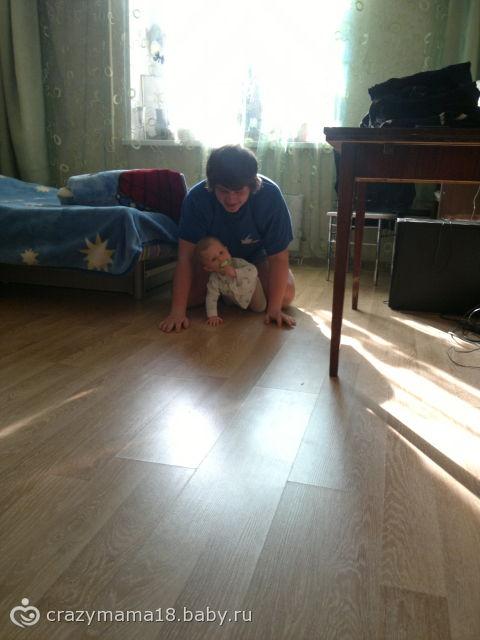 мы с папочкой