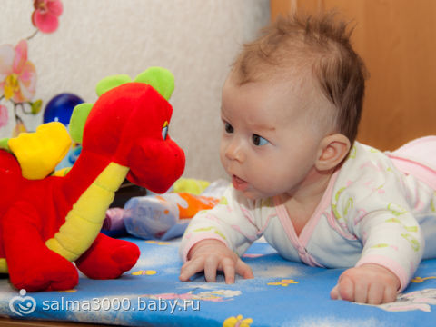дочке 2 месяца