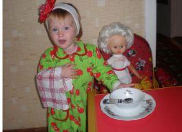 Кукла Маша ещё вам каши.....?